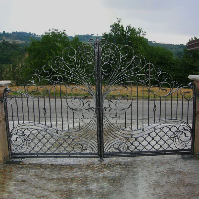 Wrought Iron Gates For Front Yards Whole Sale Custom Design