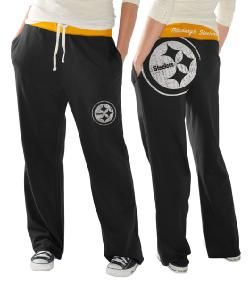 f58655116 Pittsburgh Steelers Women s Recruit Baggy Pant - Official Online Store