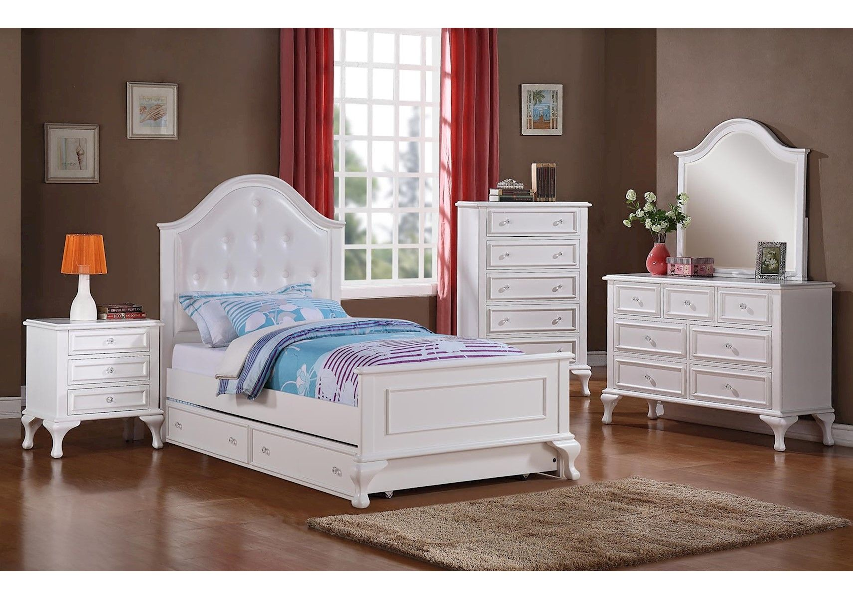 Best Lacks Jesse 4 Pc Kids Bedroom Set With Images Kids 400 x 300