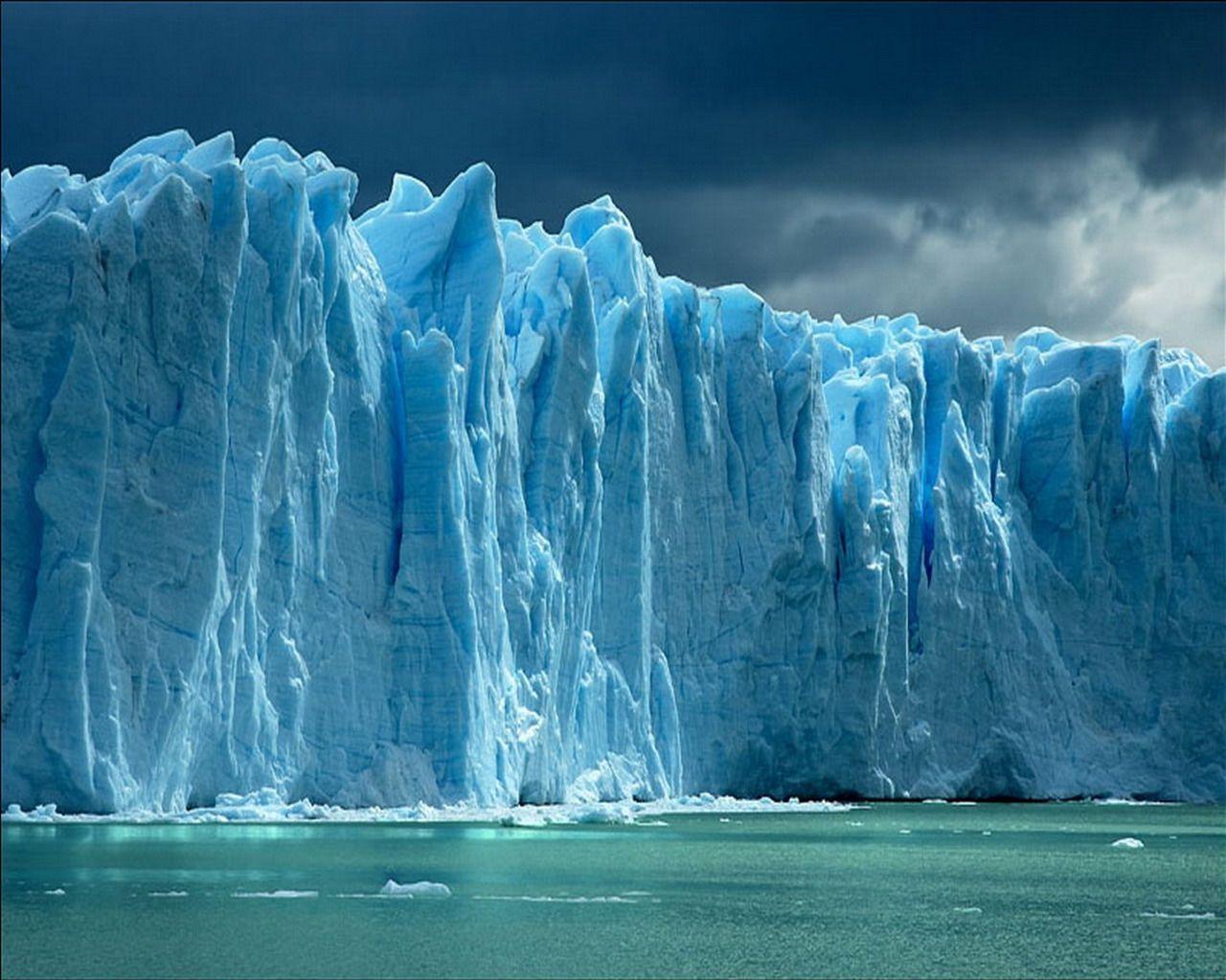 Ice Glaciers Magnificent