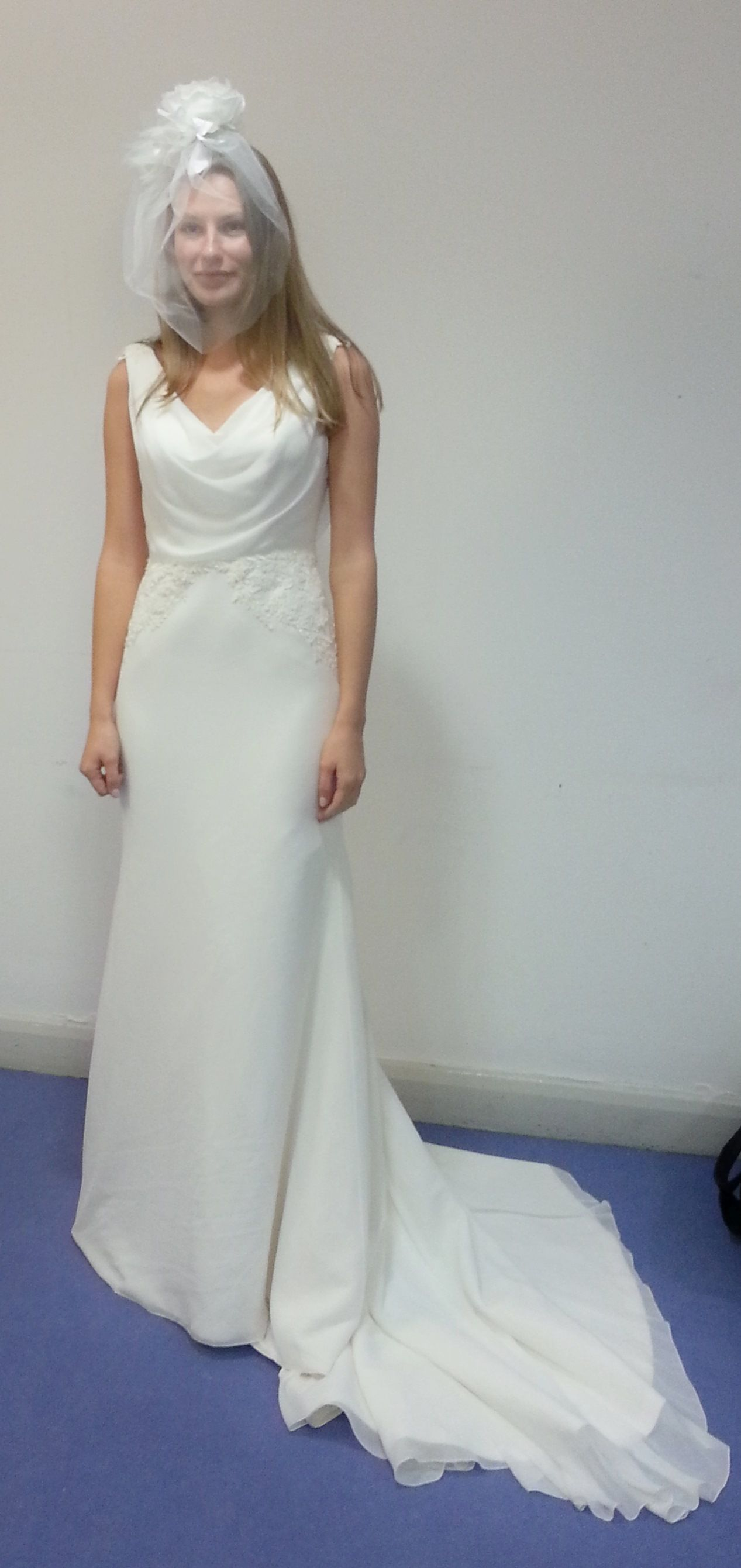 One of our models wearing a beautiful bridal gown from The Scottish ...