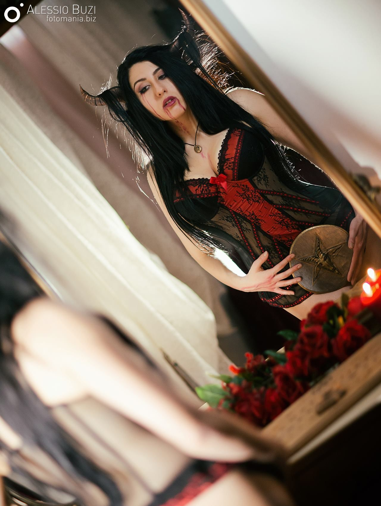 Ph: www.fotomania.biz   Model: https://www.facebook.com/lilithraven.cosplay/?fref=ts  #esoteric #occult #pagan #wicca #magic #magick #gothic #ouija #noctua #baphomet
