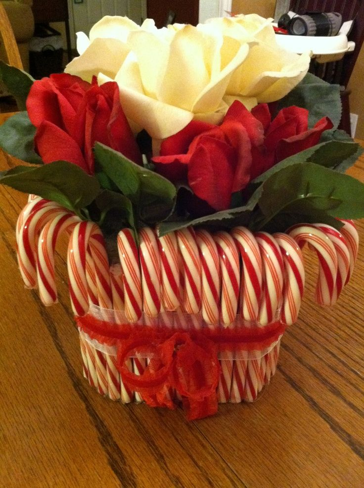 Thanksgiving Table Decorations Ideas Candy Cane Table Decor