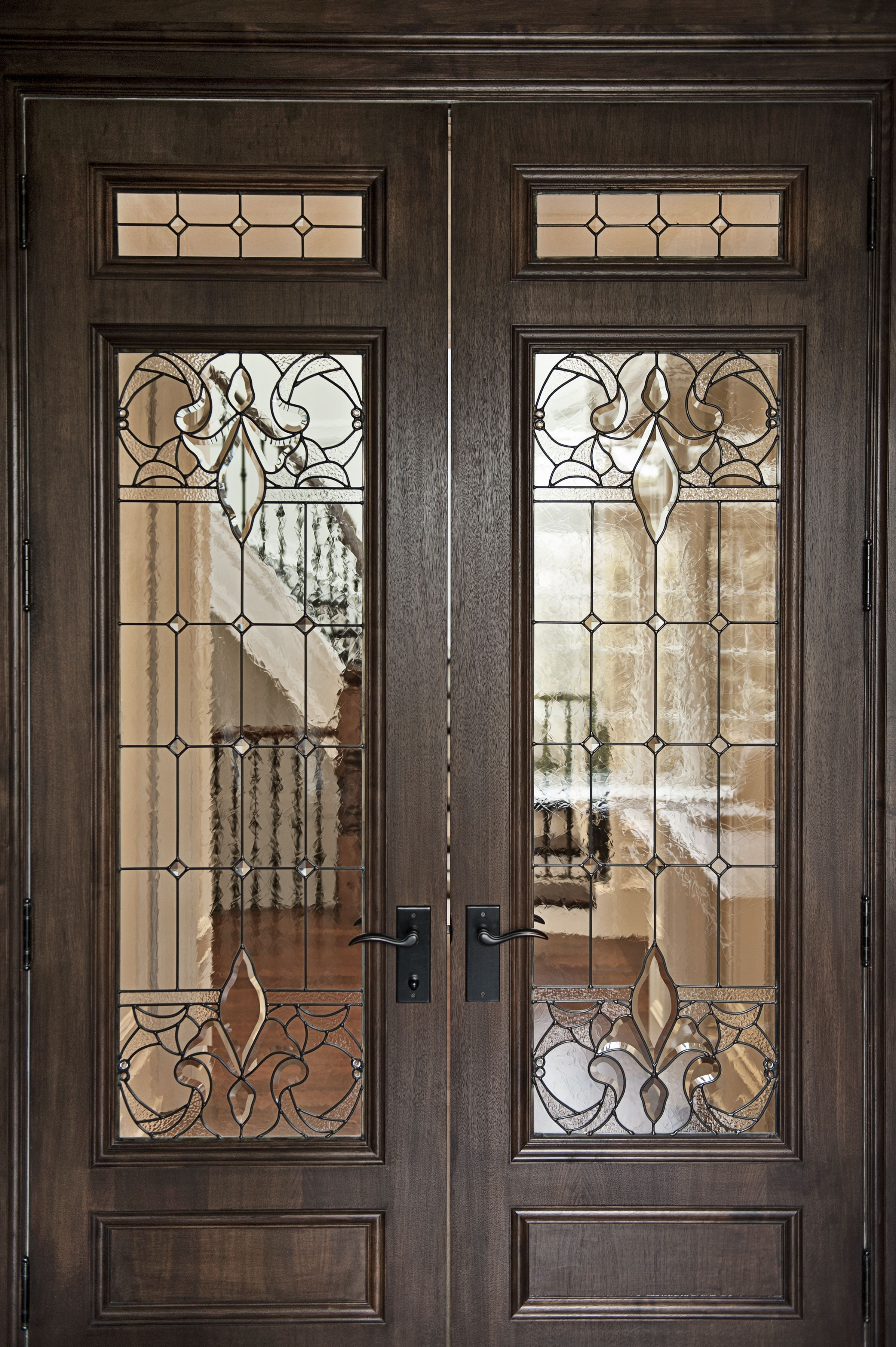 Elegant Custom Made Entry Door