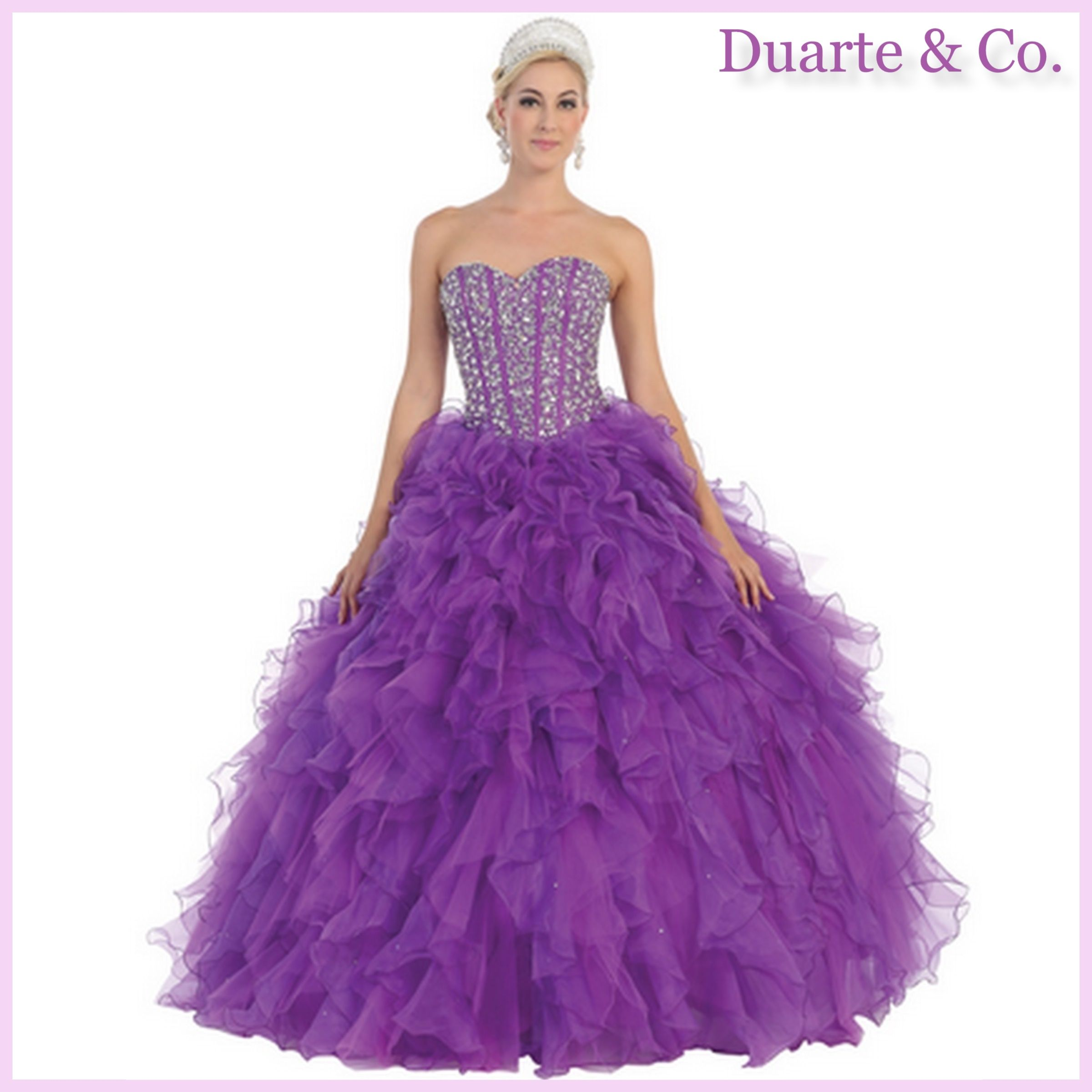 Quinceanera & Sweet 16 Ball Gown W/Sizes - LK39 | Sweet 16, Ball ...