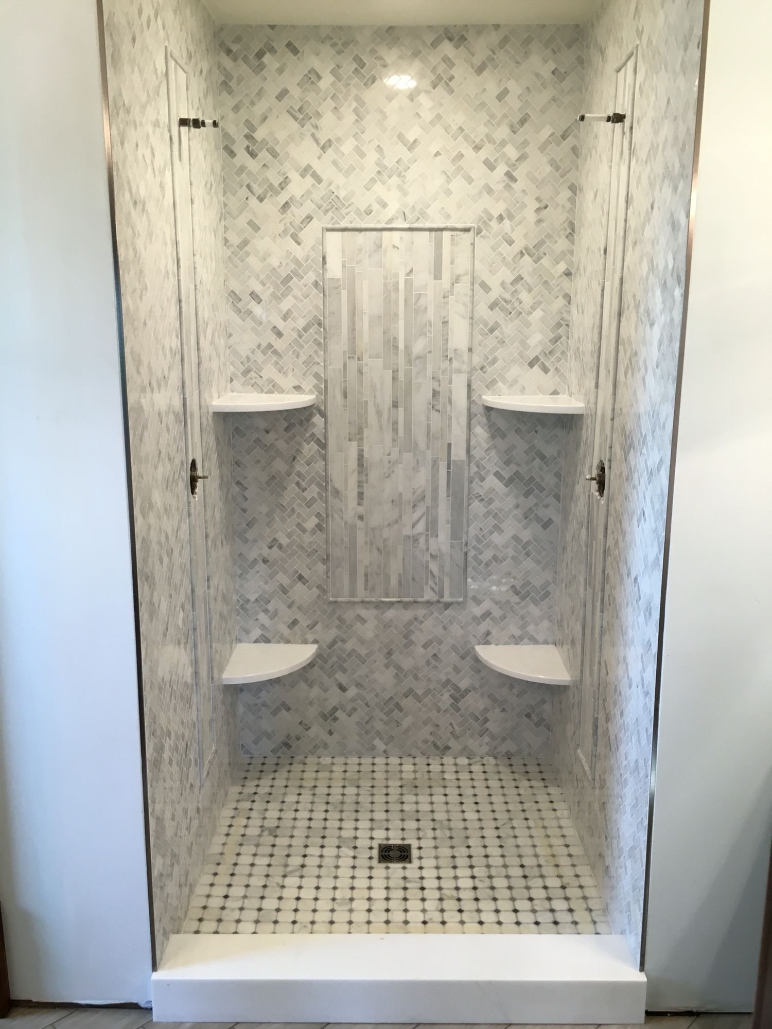 Sioux Falls Area Master Bathroom Shower Design Build By Tilebuys