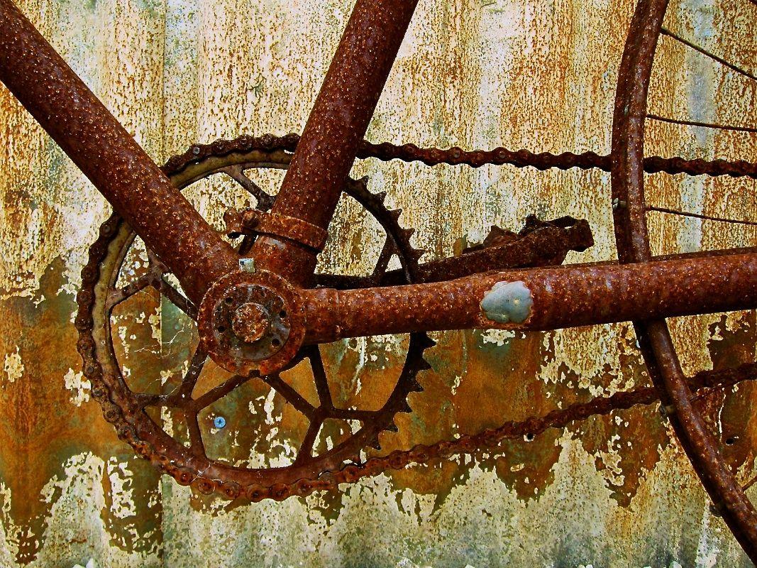 how to clean bike chain rust