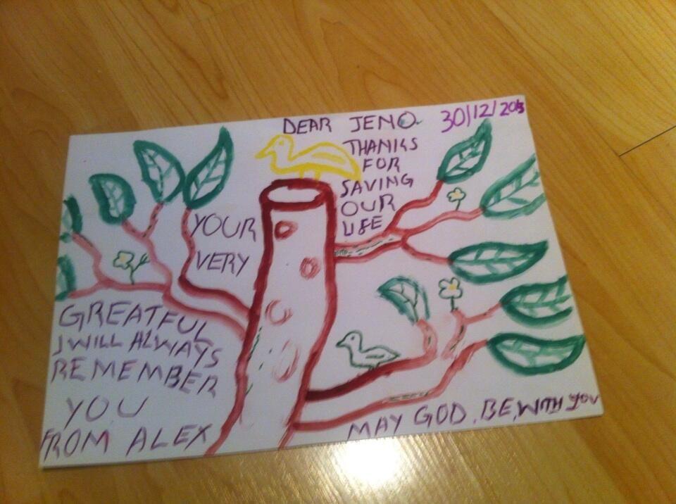 Bambini disegnati ~ Tra i nostri ringraziamenti preferiti i disegni dei bambini che