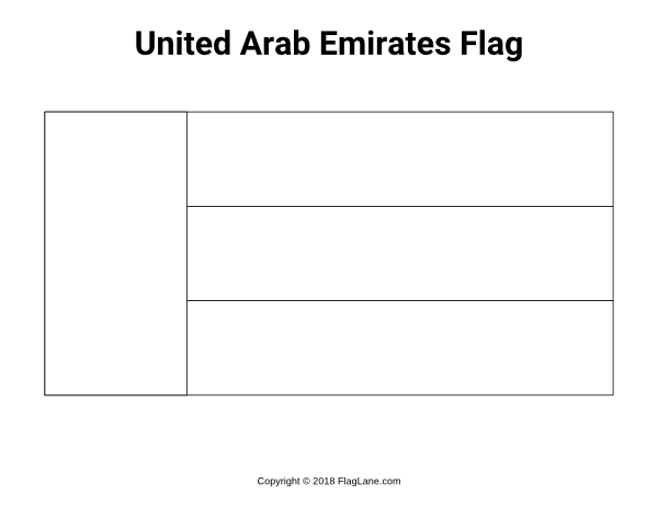 Free Printable United Arab Emirates Flag Coloring Page Download It At Https Flaglane Com Coloring Page Emir Emirates Flag Flag Coloring Pages Flag Printable