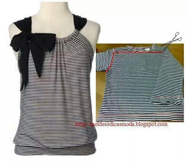 37761830b75 S Χειροποίητα Ρούχα, Συμβουλές Ραπτικής, Ραπτική, Shirt Refashion,  Χειροποίητο Πουκάμισο, Παλιά