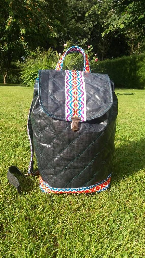 Belts Its Double Ethnic Woman And Woven The Chic Quilted Backpack KTF1Jc3l