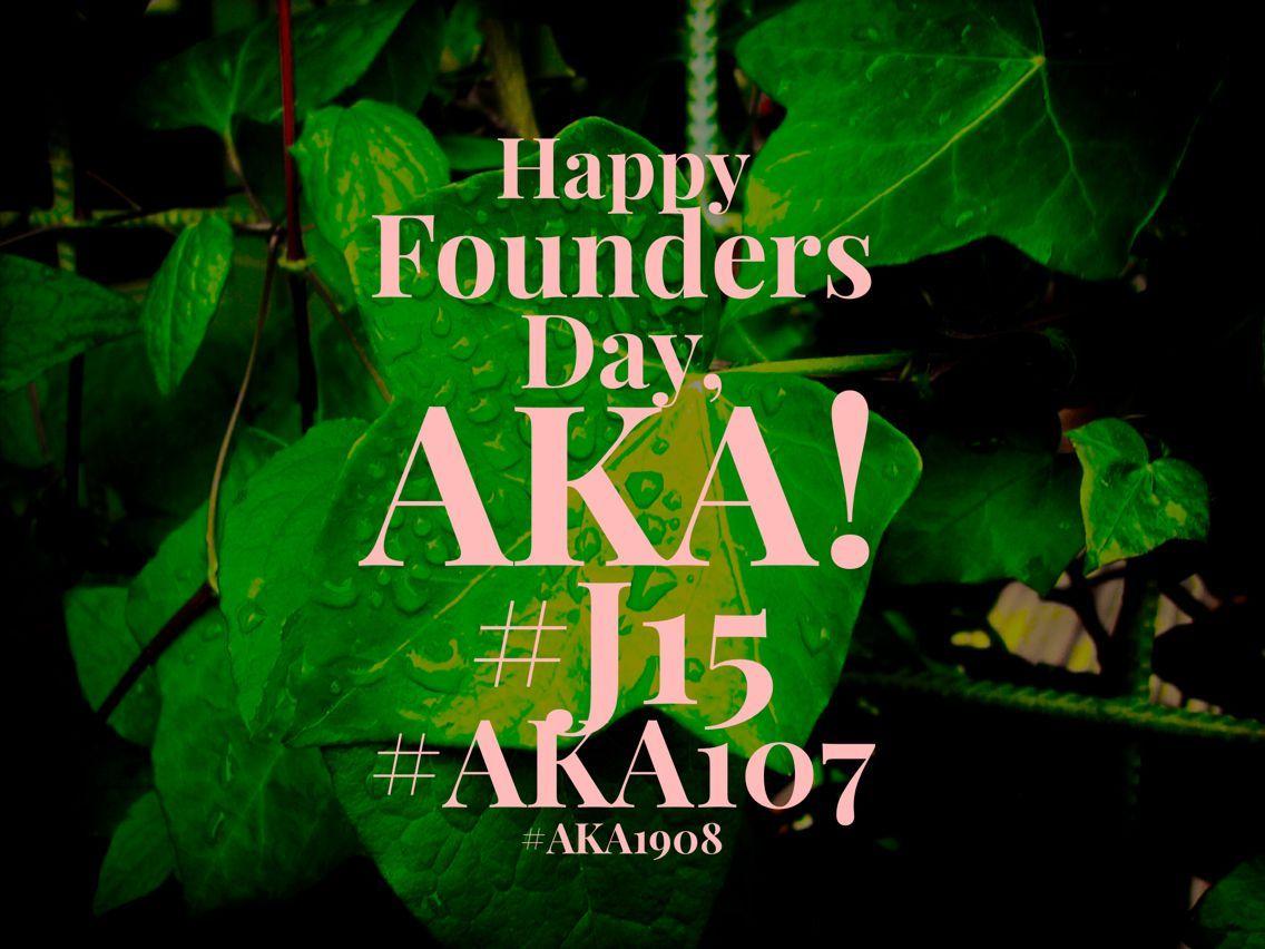 Happy Founders Day to my Alpha Kappa Alpha sisters. 107 years and going strong. #J15 #AKA107 AKA1908 #happyfoundersdayalphakappaalpha Happy Founders Day to my Alpha Kappa Alpha sisters. 107 years and going strong. #J15 #AKA107 AKA1908