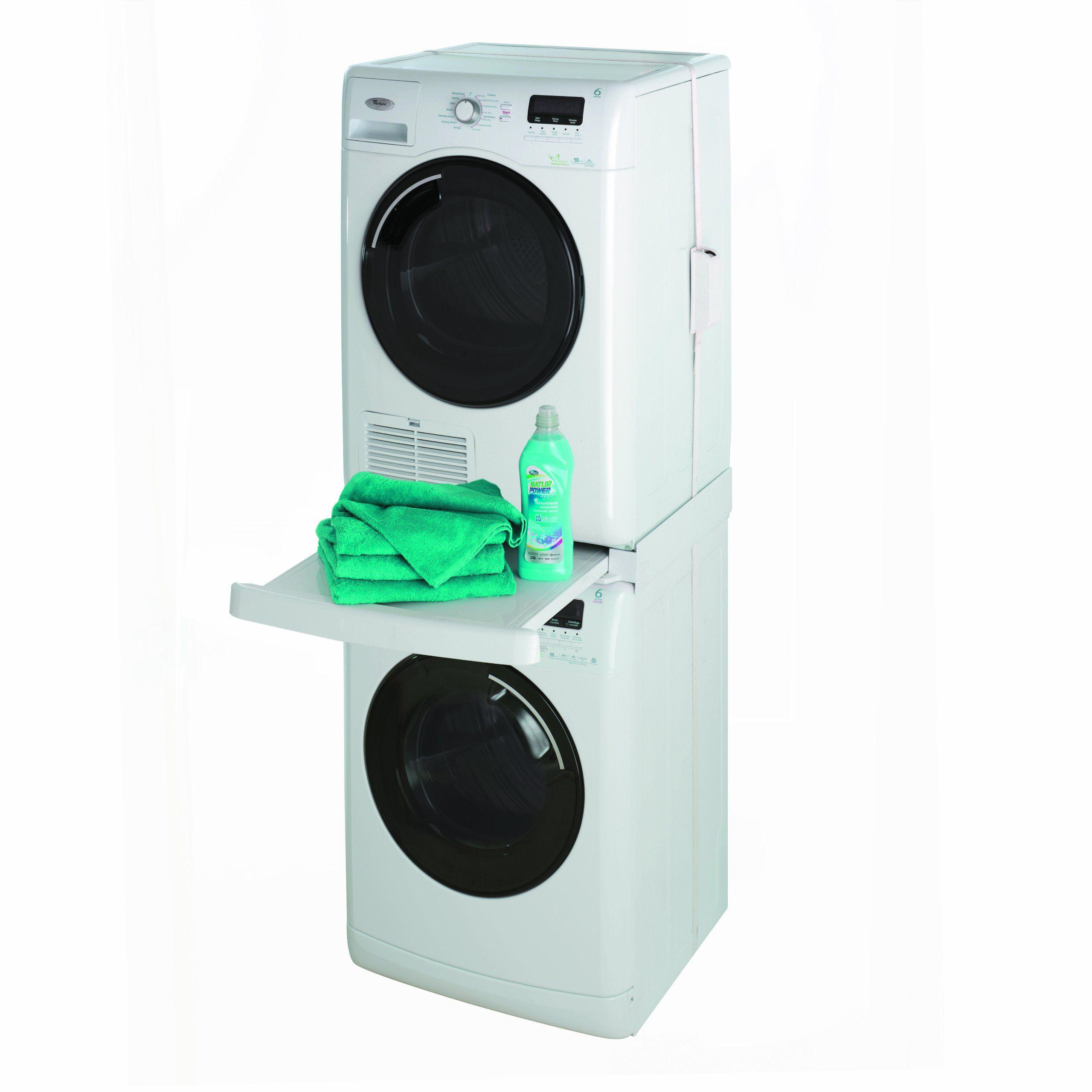 Kit Empilage pour la machine à laver Étagère Machine Laver Machine à Laver FR