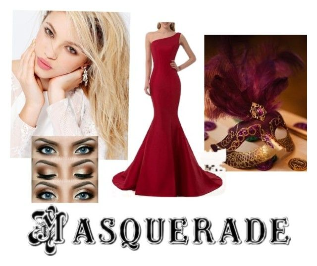 """""""Masquerade ball"""" by mbubbles109 on Polyvore featuring Silvana, Masquerade and mask"""