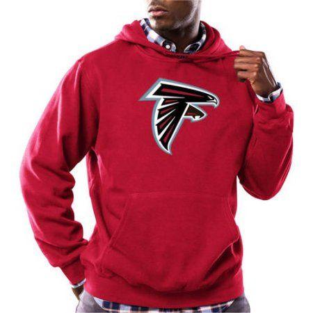 best service d2c83 ebdec NFL Big Men's Atlanta Falcons Tek Patch Fleece Hoodie, Size ...