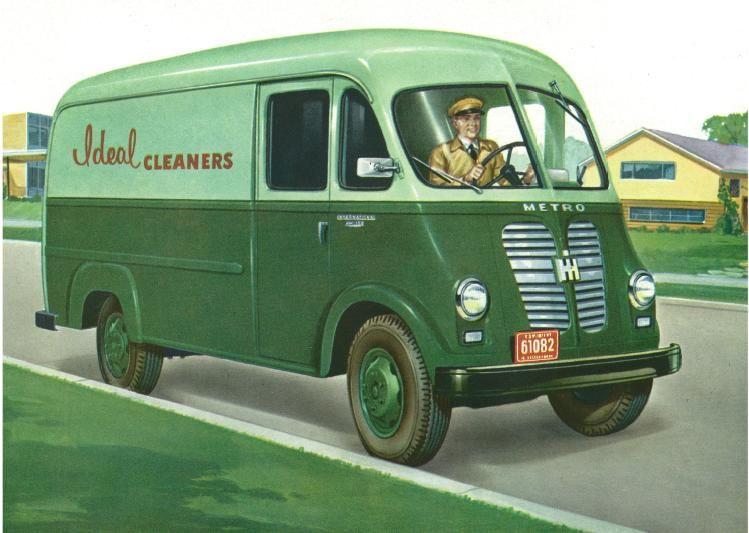 Image result for International Harvester step up van