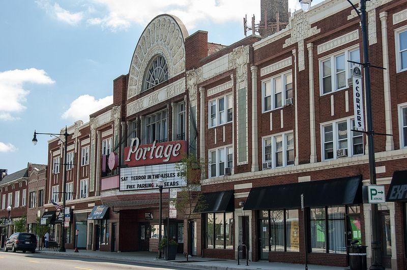 Portage Theatre Portage Park Chicago Public Enemies Movie John Dillinger Chicago Architecture Chicago Neighborhoods Chicago History
