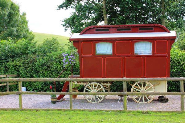 Gypsy caravan - perfect for quirky travel ;-)