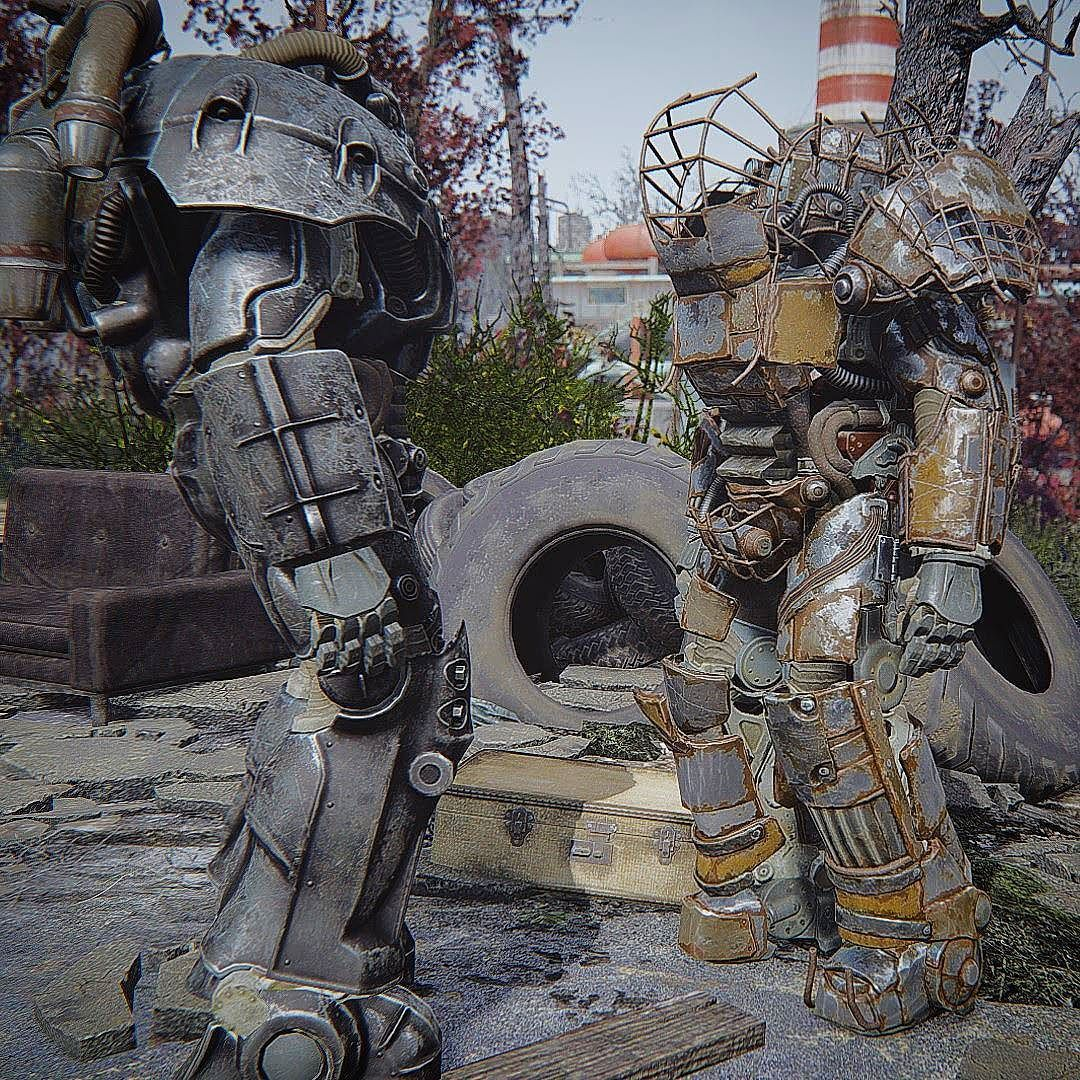 oooh full raider power armor fallout fallout4 gaming powerarmor