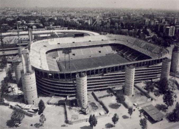 Image result for giuseppe meazza stadium retro