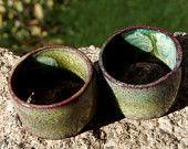 Hoopla..... enameled copper beads