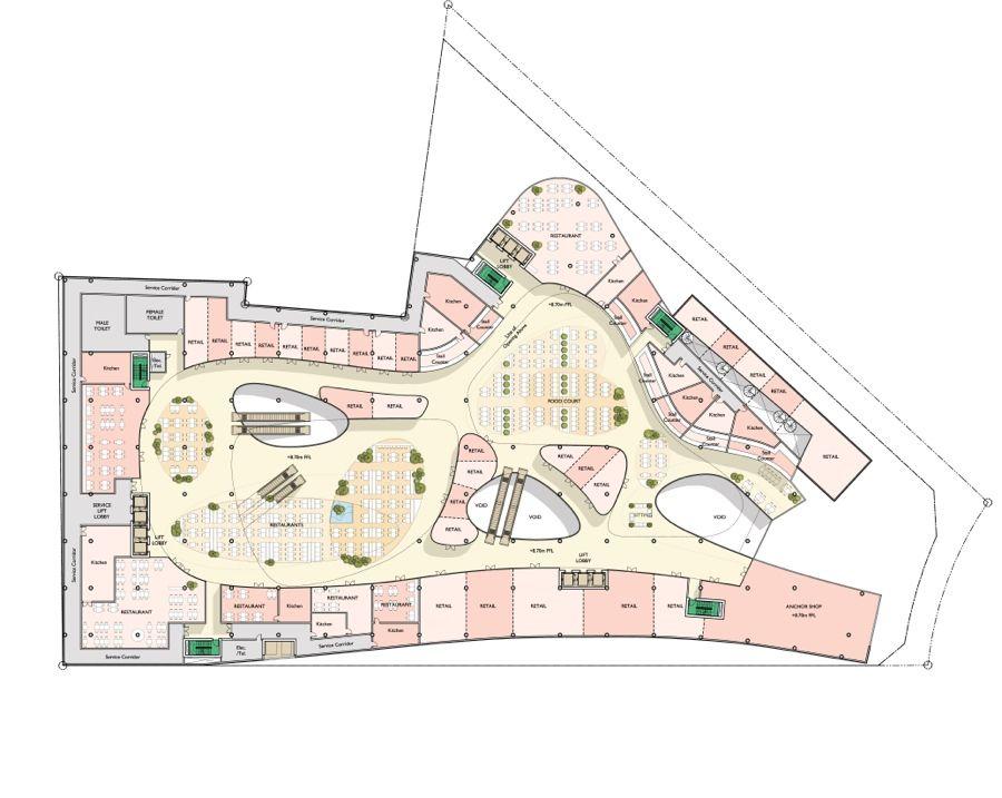 Mall Floor Plan Designs - Ivoiregion