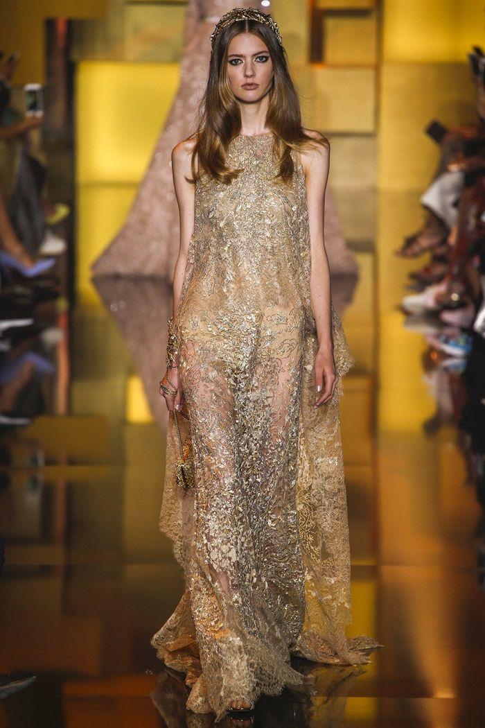 Elie #Saab #Fall 2015 Haute #Couture