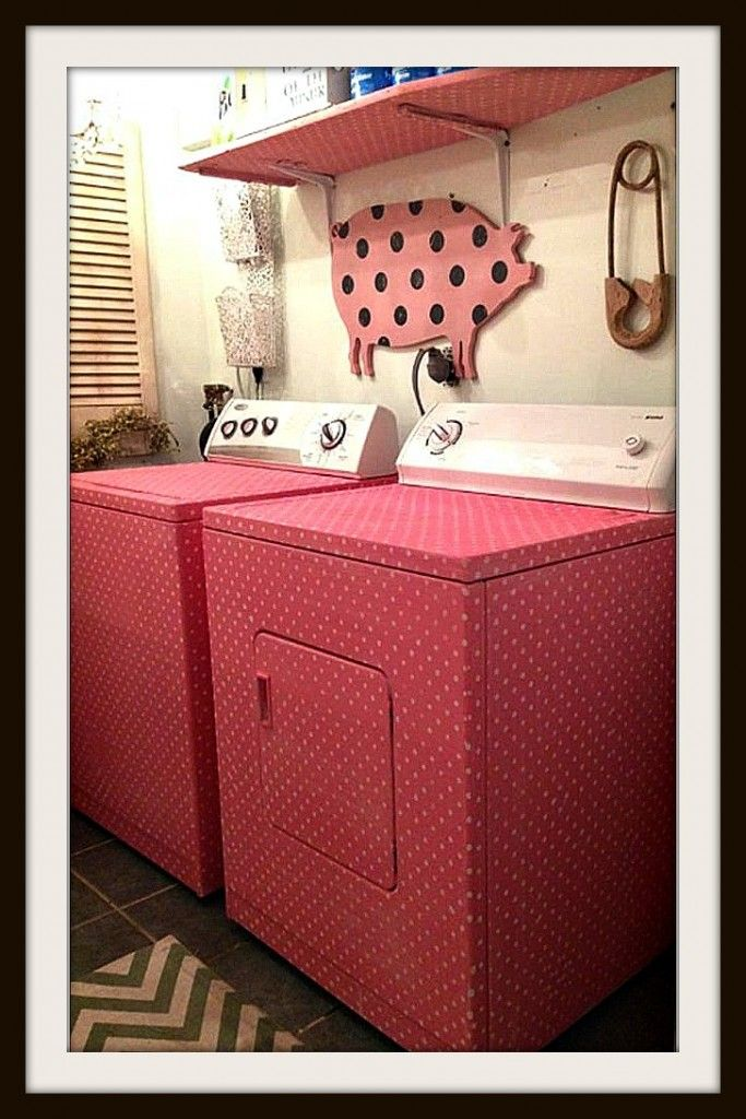Paint Your Washer Dryer With Chalk Paint Laundry Room Colors Laundry Room Paint Laundry Room Paint Color