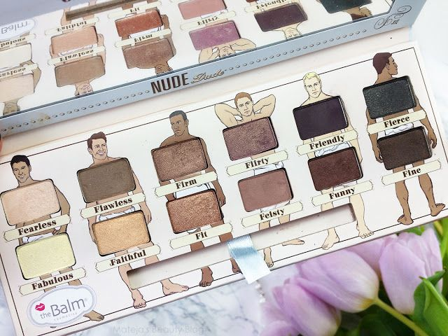 theBalm Nude tude v. Nude Dude Eyeshadow Palette (Review