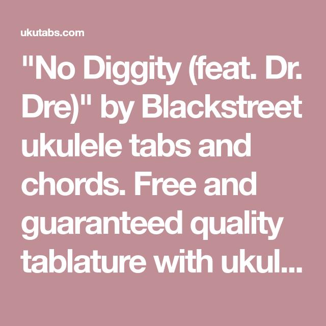 No Diggity (feat. Dr. Dre)\