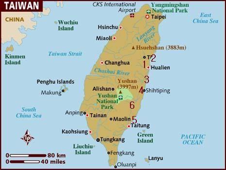 Taiwanu0027s Stunning East Coast - Curiosity Travels Taiwan - new taiwan world map images
