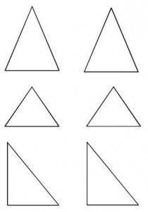 Decoupage Triangles