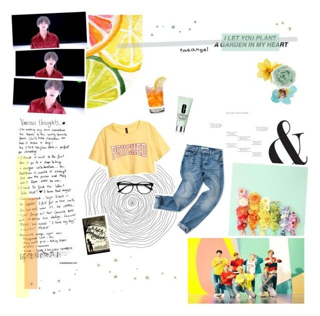 """""""make you fall in love like my name's frank ocean"""" by taeangel ❤ liked on Polyvore featuring Dorothy Perkins, Zara, Clinique and EyeBuyDirect.com"""