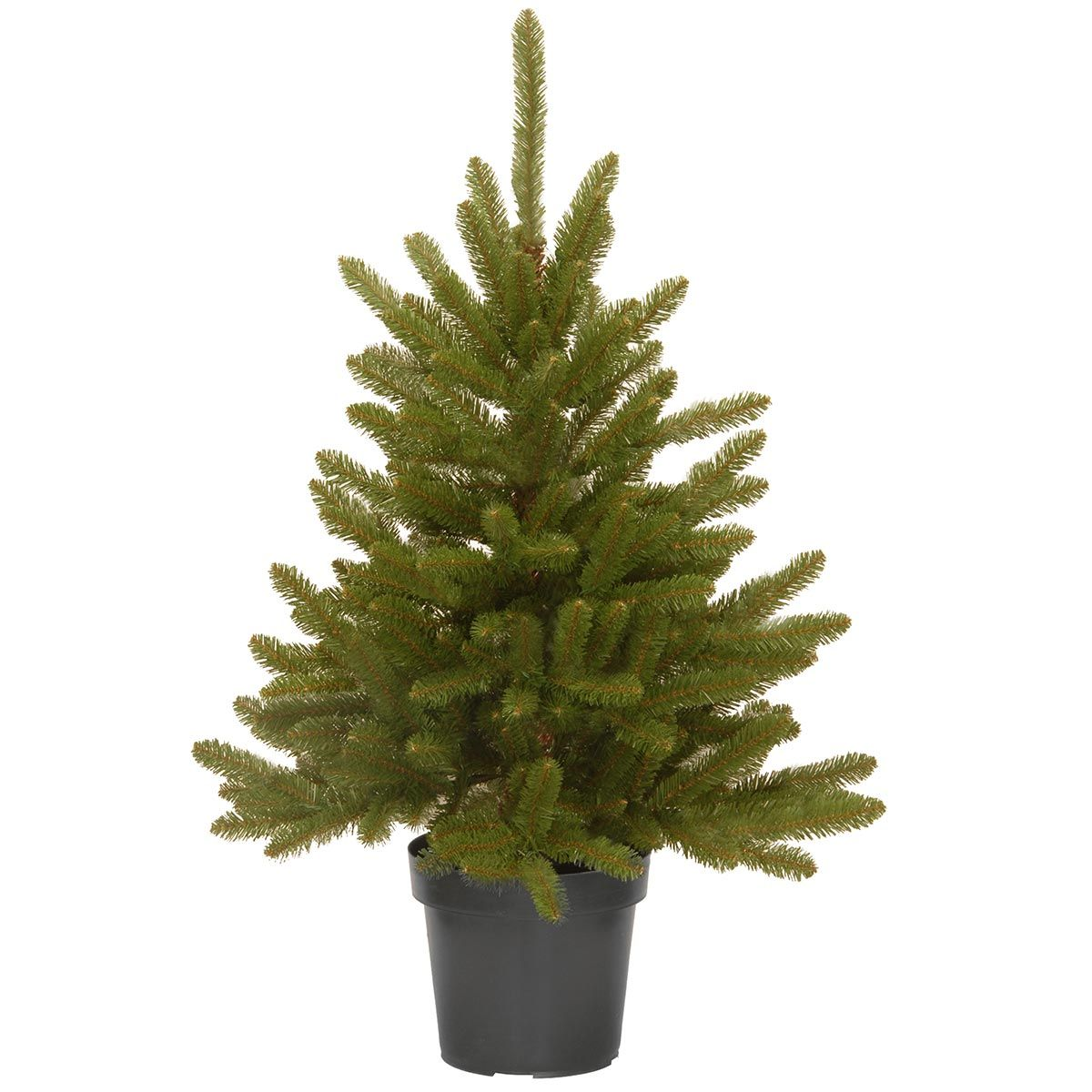 3ft kensington potted artificial christmas tree - Potted Artificial Christmas Trees