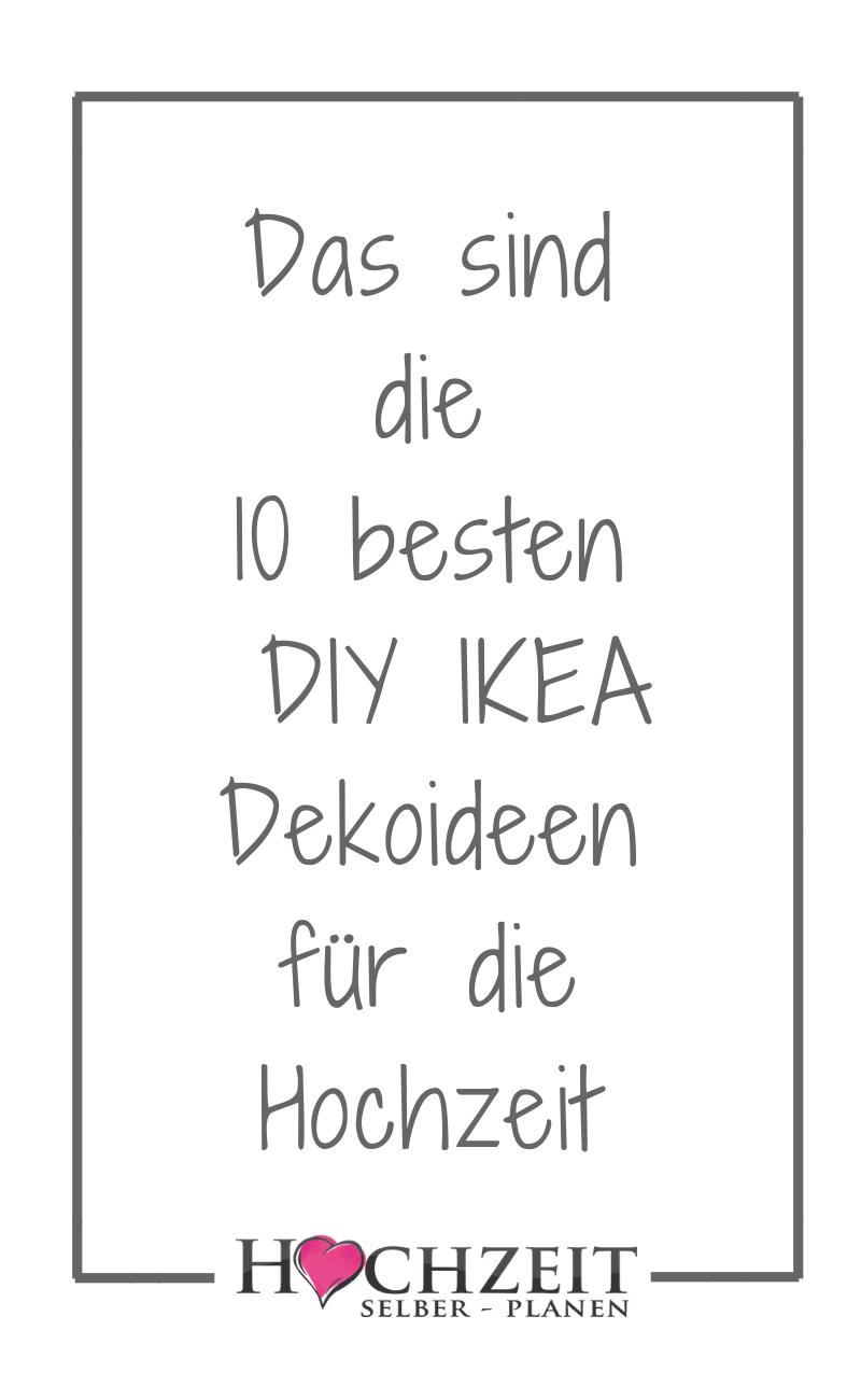 Photo of Ideas de decoración de boda DIY IKEA