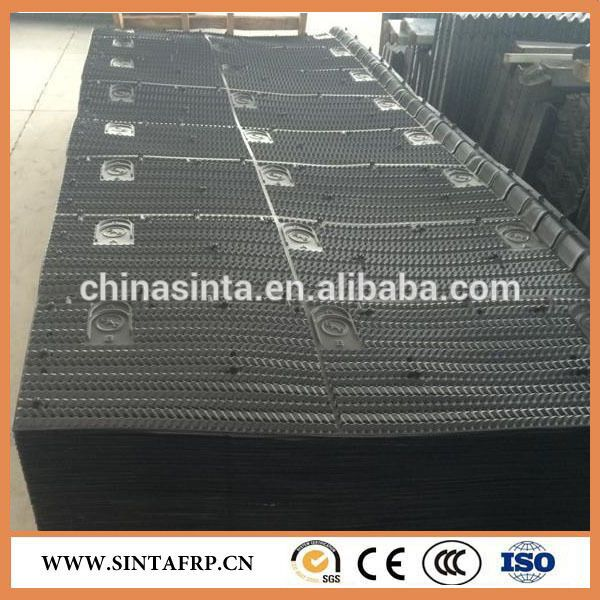 Width 1330mm Pvc Material Cooling Tower Fill Cooling Tower Pvc