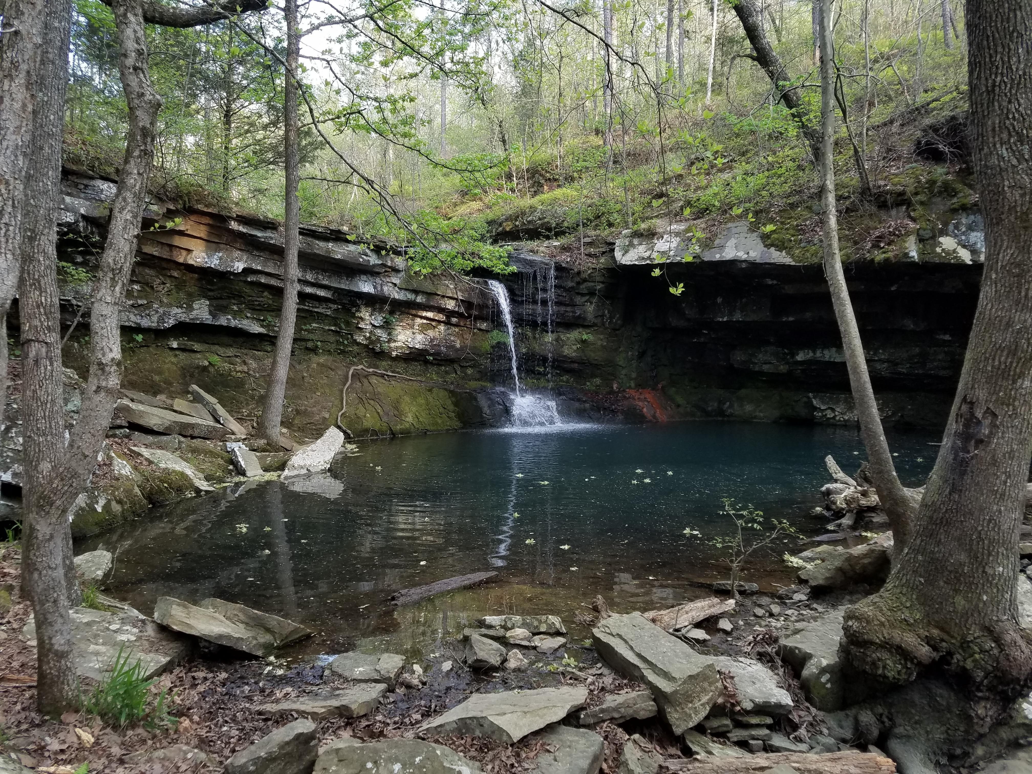 Small Waterfall. Ozark National Forrest. Arkansas. [40323024]