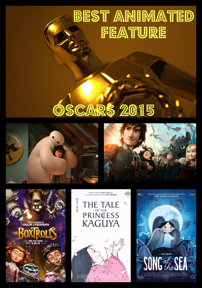 The Best Animated Feature Film Oscar Nominees 2015 ...