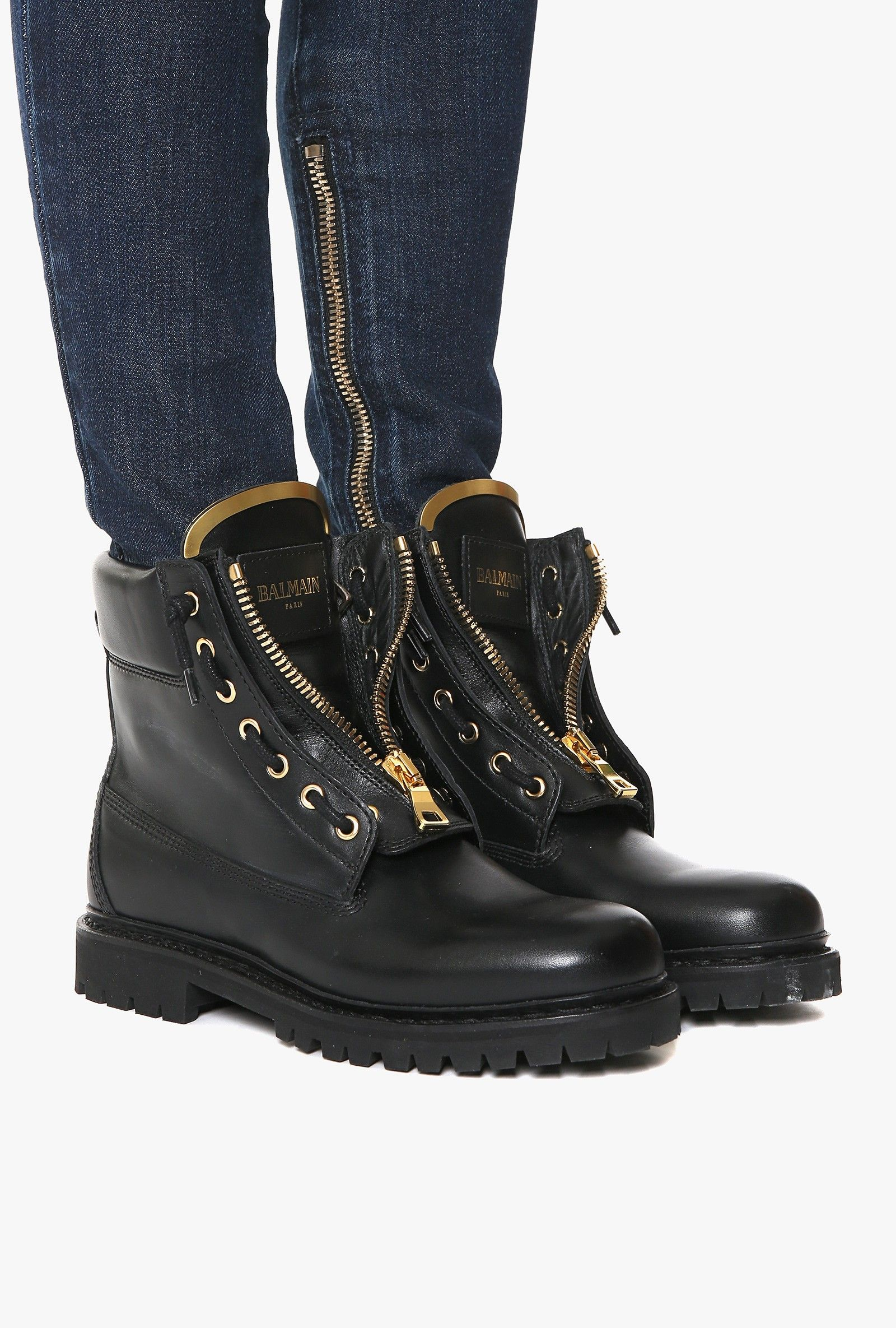 taiga ranger leather boots s low boots balmain