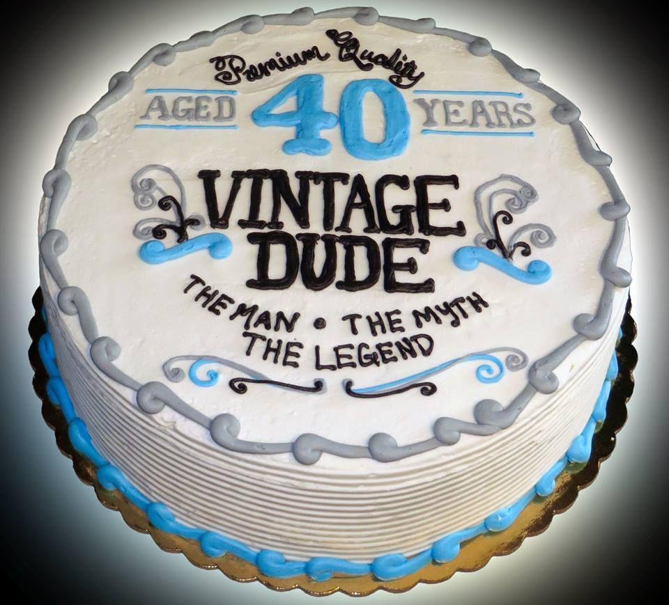 This 40th Birthday Cake Celebrates A Guy Who Has Won The