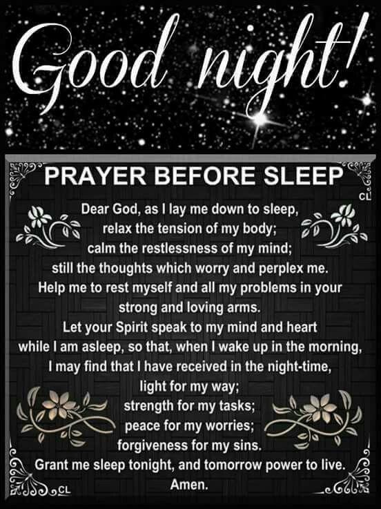 Inspirational Goodnight Quotes Prayers