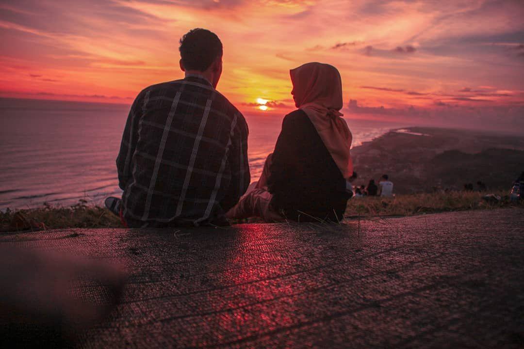 sunset sunrise senja yogyakarta pantai sore beach