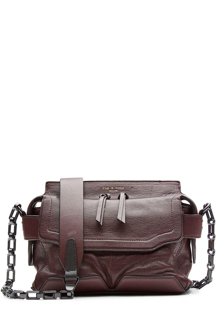 RAG & BONE Leather Shoulder Bag. #ragbone #bags #shoulder bags #leather #
