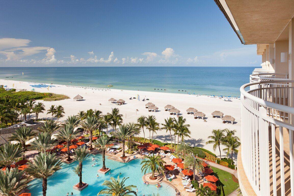 Florida oceanfront resort jw marriott marco island beach