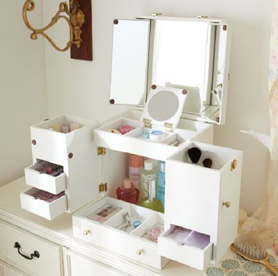 Ofhead Mirror Cabinet Jewelry Cosmetic Storage Box Multifunctional Makeup Inmakeup Mirrors From Beauty Heal