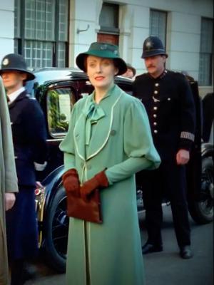 Just Skirts and Dresses: Miss Lemon wardrobe files: 8. Green pieces | Poirot,  Agatha christie's poirot, Hercule poirot