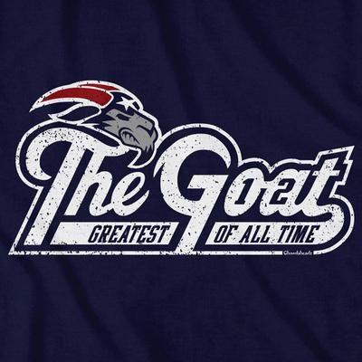 The Goat T Shirt New England Patriots Merchandise New England Football New England Patriots