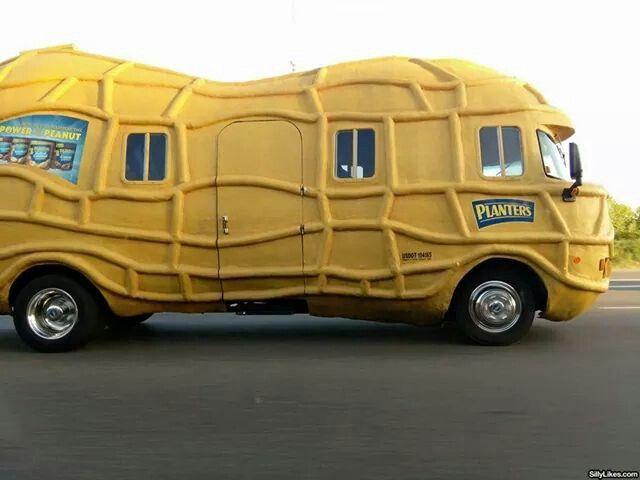 planter peanut mobile unusual cars pinterest planters
