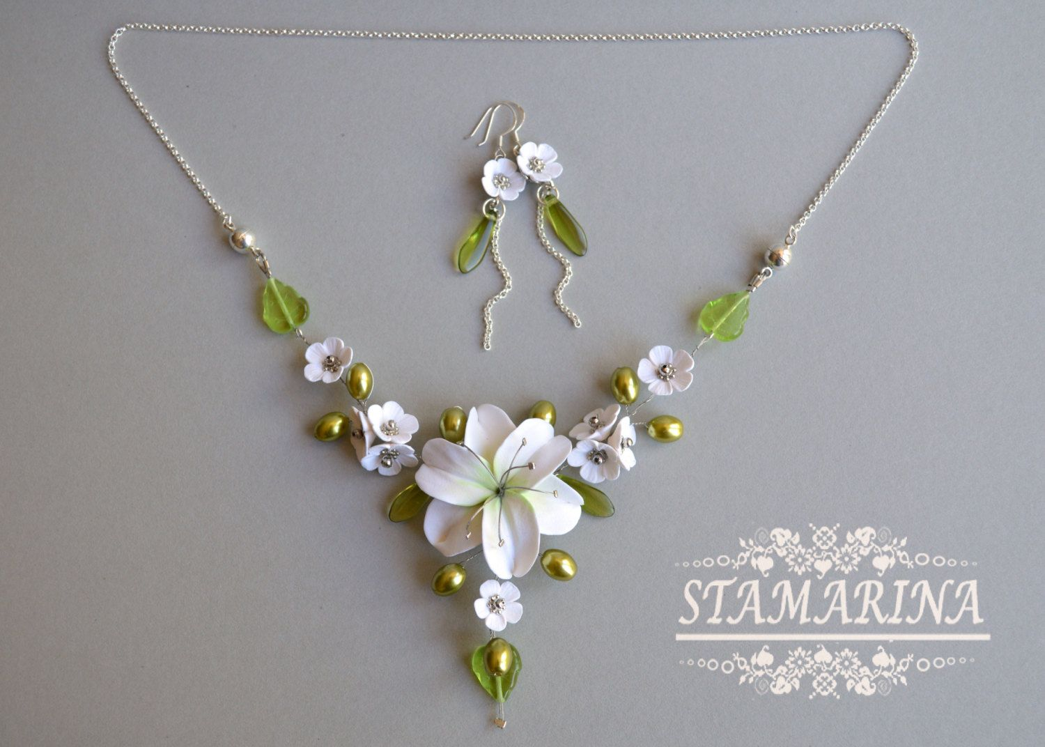 2 In 1 Necklace Bracelet Floral Jewelry Set Transformer Statement Necklace Bracelet Convertible Jewellery Multifunctional Jewelry Set With Images Floral Jewellery Convertible Jewelry Jewelry Sets