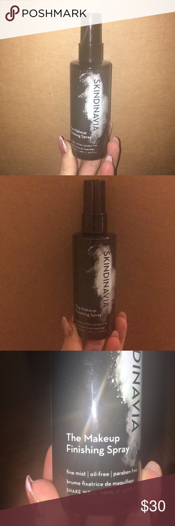 SKINDINAVIA The Makeup Finishing Spray This is a